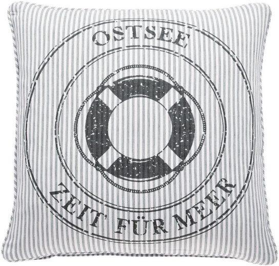 Kissenhülle »OCEAN Ostsee«, PAD (1 Stück), mit Themen-Schriftzug