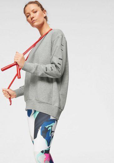 Nike Trainingsshirt »W NK DRY TOP LS CREW GRX«