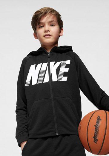 Nike Funktions-Kapuzensweatjacke »BOYS NIKE DRY FULLZIP HOODIE«