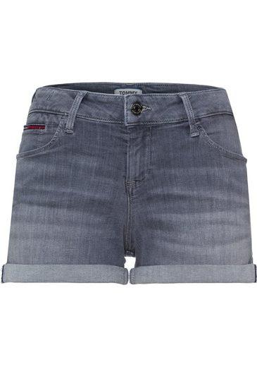 Mit Krempel Tommy Hotpants Jeans Modischem qwUTp7x4C