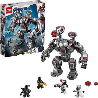 LEGO® Konstruktionsspielsteine »War Machine Buster (76124) LEGO® Marvel Super Heroes™«