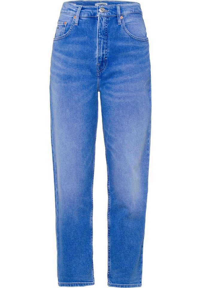 tommy jeans mom jeans mit hohem bund online kaufen otto. Black Bedroom Furniture Sets. Home Design Ideas
