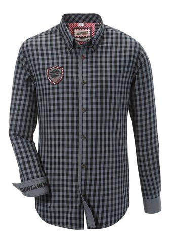 ANDREAS GABALIER KOLLEKTION Tautinio stiliaus marškiniai su rockig...