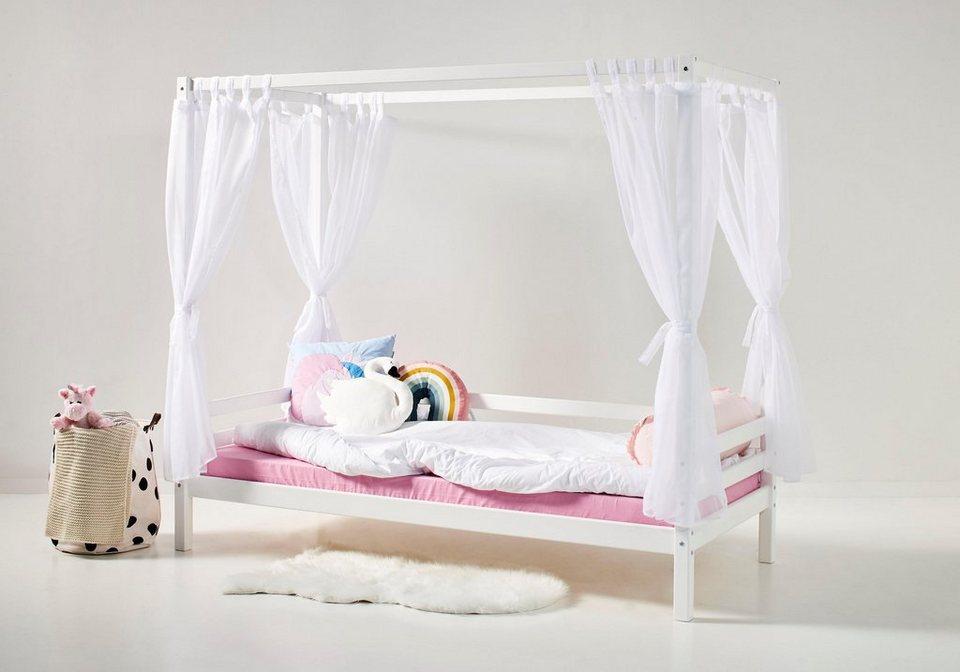 hoppekids himmel set inkl 4 vorh ngen f r sofabett online. Black Bedroom Furniture Sets. Home Design Ideas