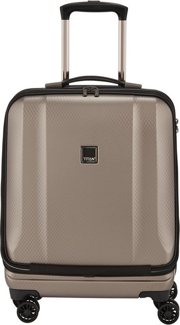 TITAN® Business-Trolley »Xenon Deluxe, 55 cm, Champagne«, 4 Rollen, mit Tablet- und Laptopfach | Taschen > Businesstaschen > Business Trolleys | TITAN®