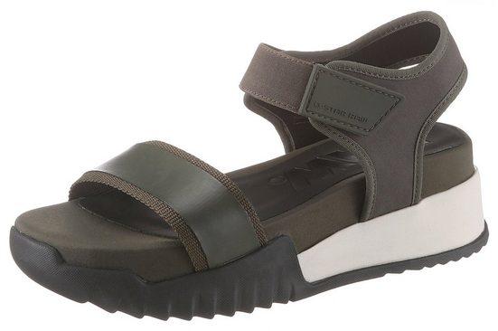 G-Star RAW »Rackam Rovic Sandal« Sandale mit Plateausohle