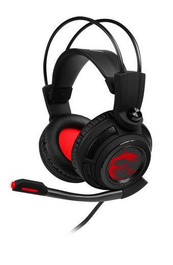MSI DS502 GAMING Headset »Leichtes und selbstanpassendes Kopfband-Design«
