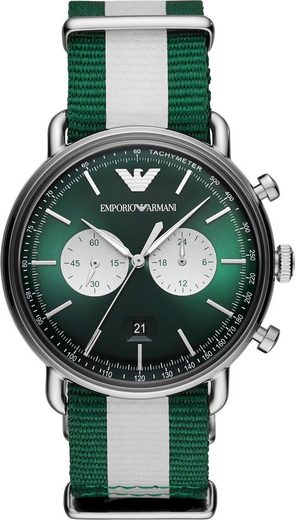 Emporio Armani Chronograph »AR11221«, mit reflektierendem Armband