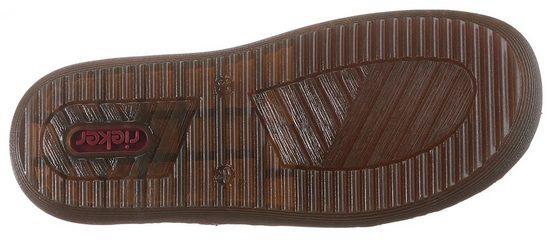 Rieker Chelseaboots mit Stretcheinsatz mit Musterung