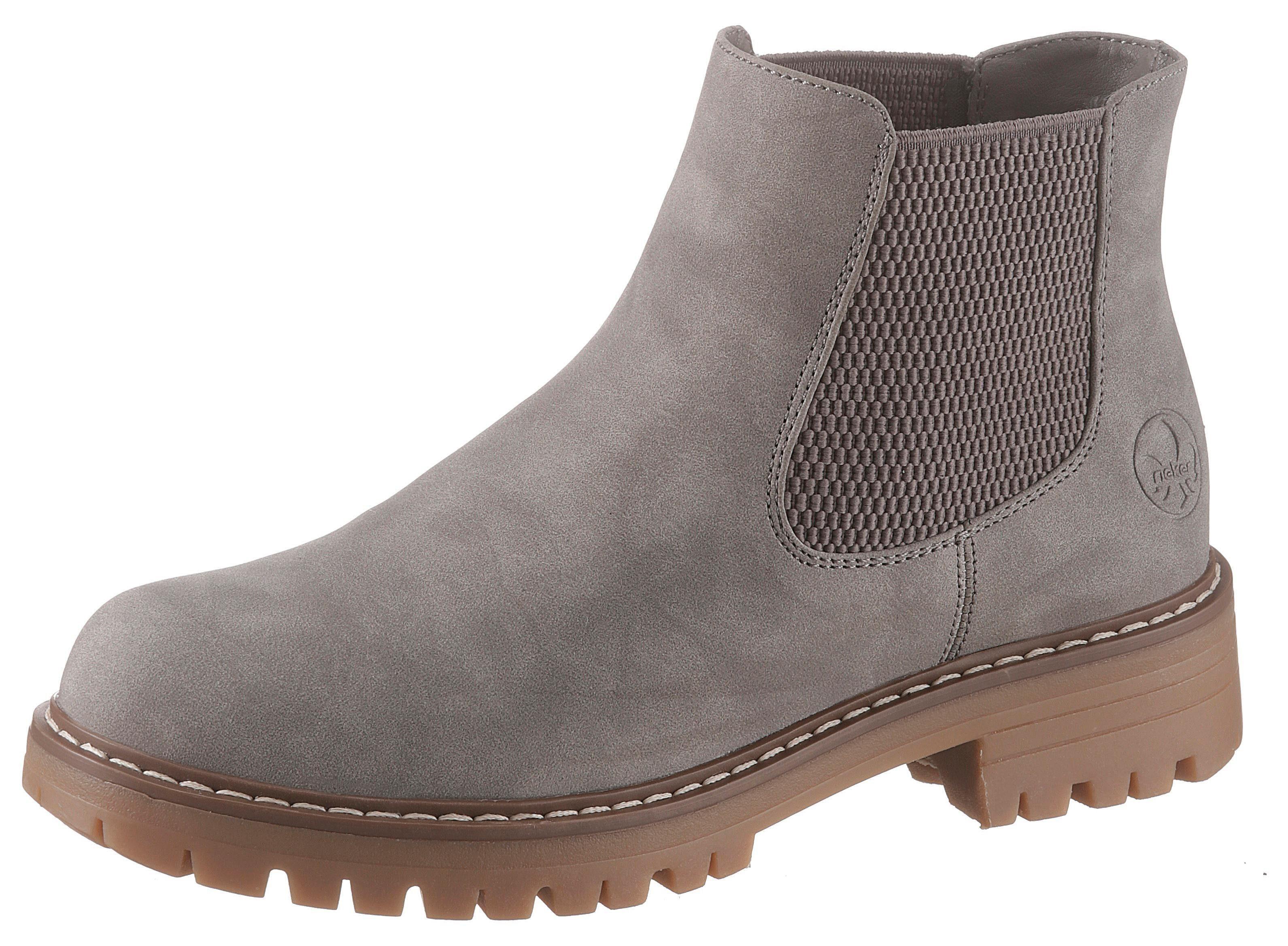Rieker Chelsea Boots, Obermaterial: Textil online kaufen | OTTO