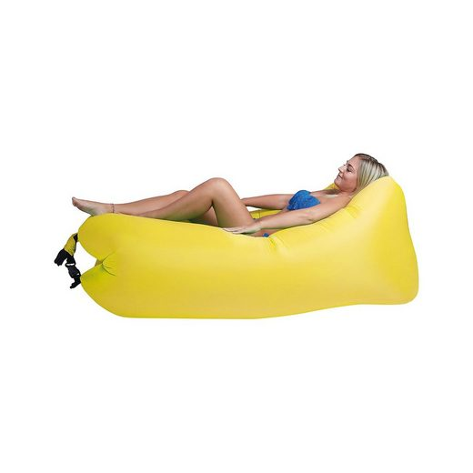 Happy People Lounger to go 2.0 Luftsofa, gelb