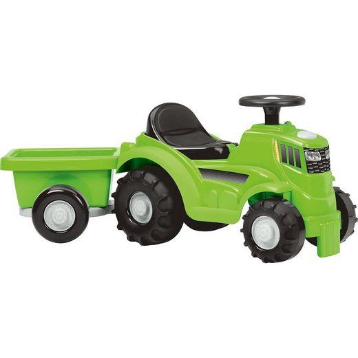 Ecoiffier Traktor mit Anhänger