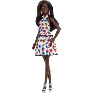 Mattel® Barbie Fashionistas Puppe Rainbow Floral