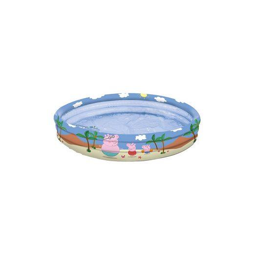Happy People Peppa Pig 3-Ring-Pool, 100 cm