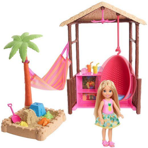 Mattel® Barbie Reise Chelsea Ferieninsel Hütte