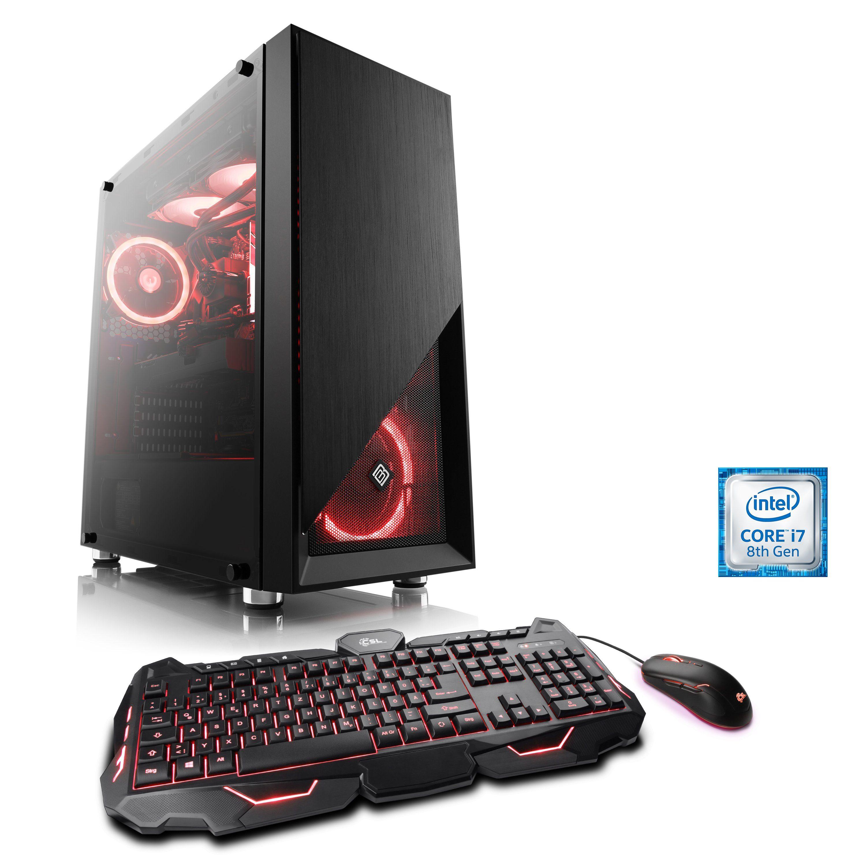 CSL Extreme Gaming PC Core i7-8086K | RTX 2080 Ti | 32 GB DDR4 | SSD »HydroX T9355 Wasserkühlung«