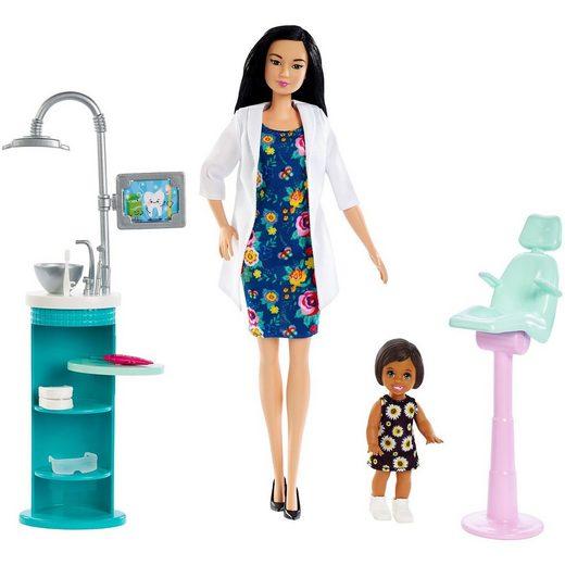 Mattel® Barbie Zahnärztin-Puppe (brünett) und Spielset