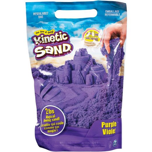 Spin Master Kinetic Sand lila, 907 g Beutel