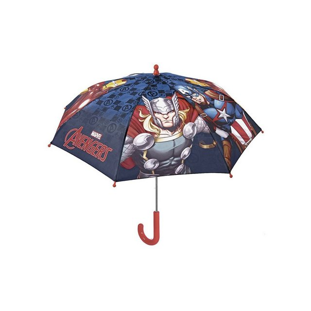p:os Avengers Stockschirm Gr. 42/8 | Accessoires > Regenschirme > Stockschirme | Blau | p:os