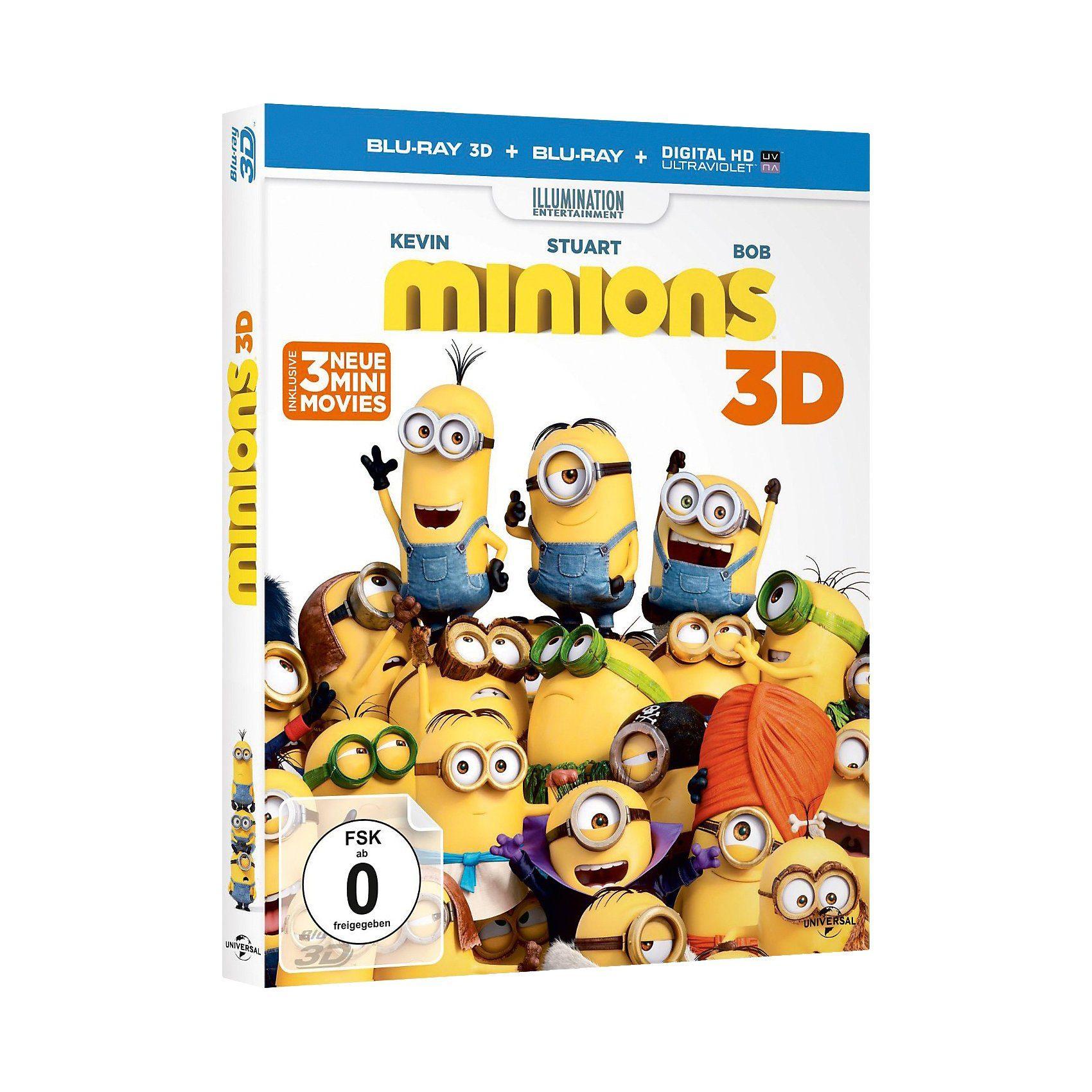 Universal BLU-RAY Minions (3D)