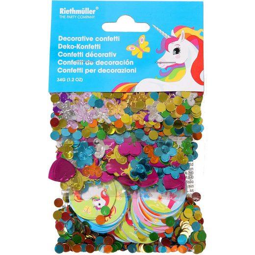 Amscan Motivkonfetti/Streudeko Einhorn 34 g