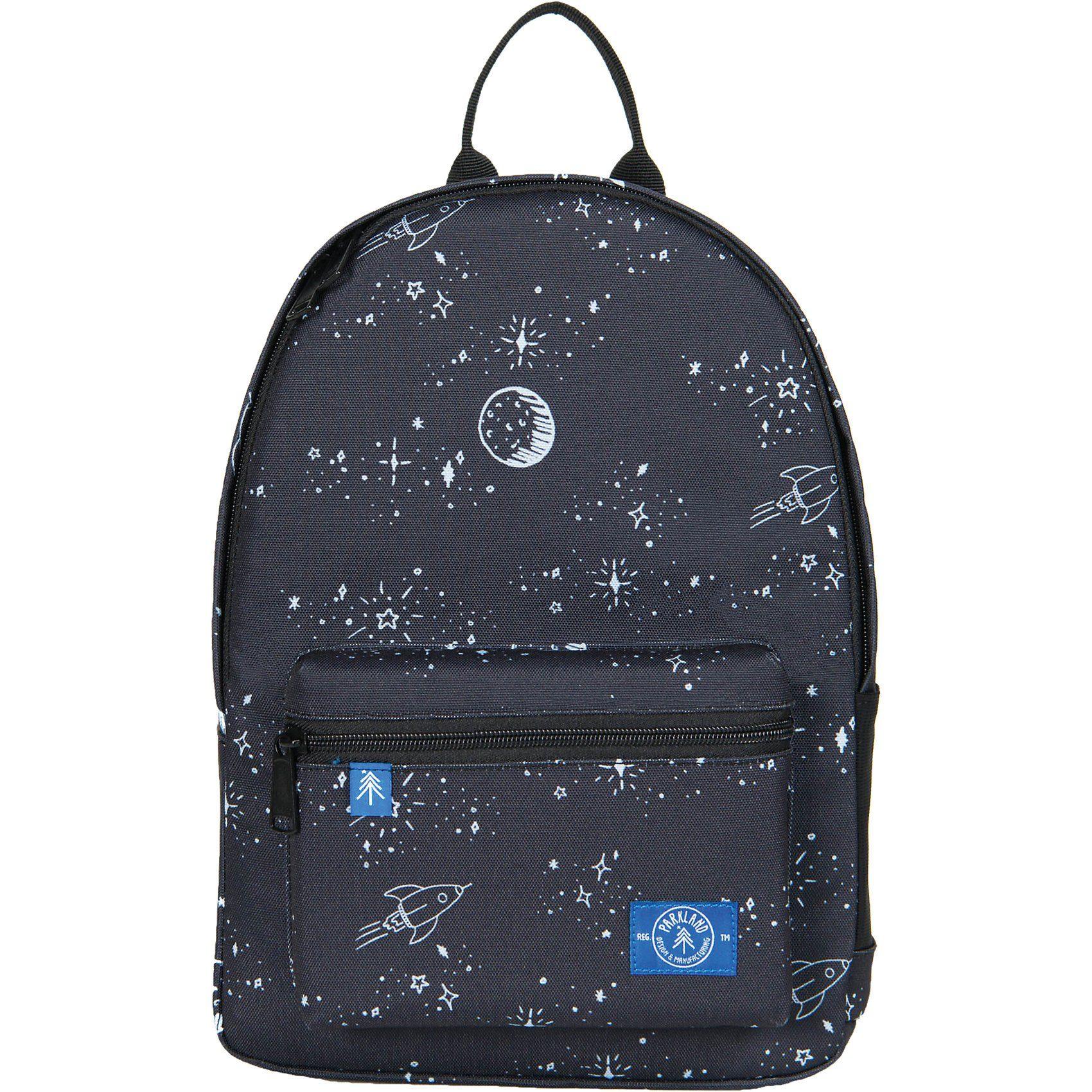 Unisex PARKLAND Kinderrucksack THE EDISON Space Dreams schwarz | 00828432132317