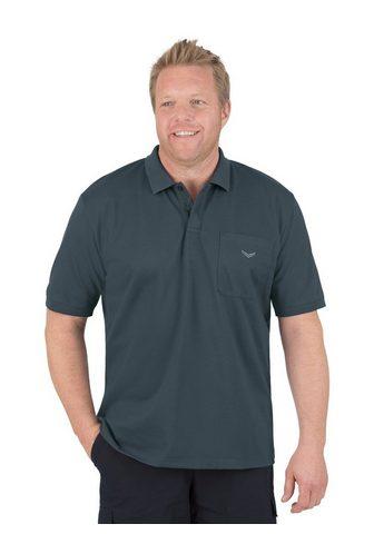 TRIGEMA Polo marškinėliai su užsėgama kišenė