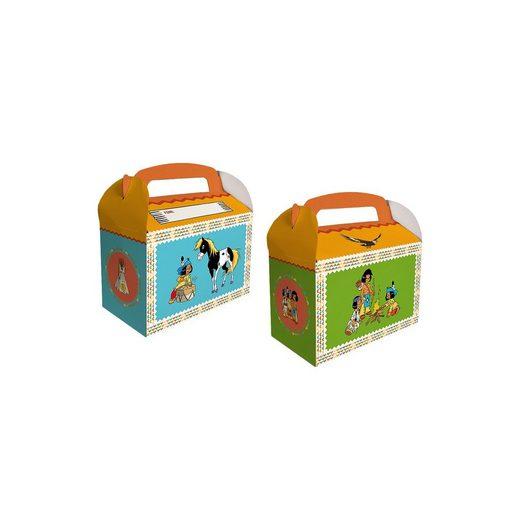 dh konzept Geschenkboxen Yakari, 6 Stück
