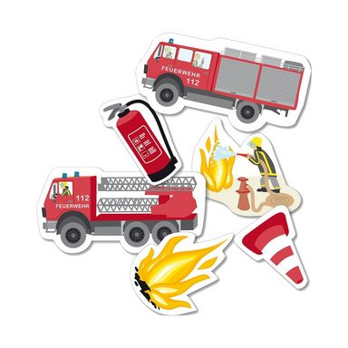 dh konzept XXL-Konfetti Feuerwehr, 24-tlg.