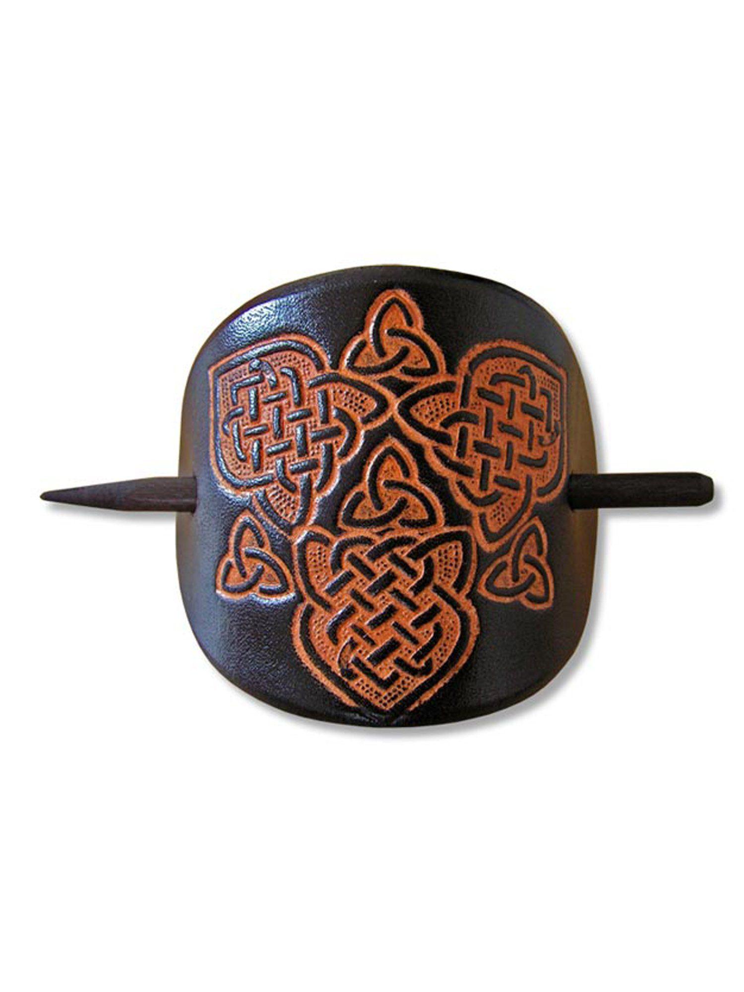 Haarspange« »keltische Adelia´s Leder Adelia´s Haarspange 4jALR35q
