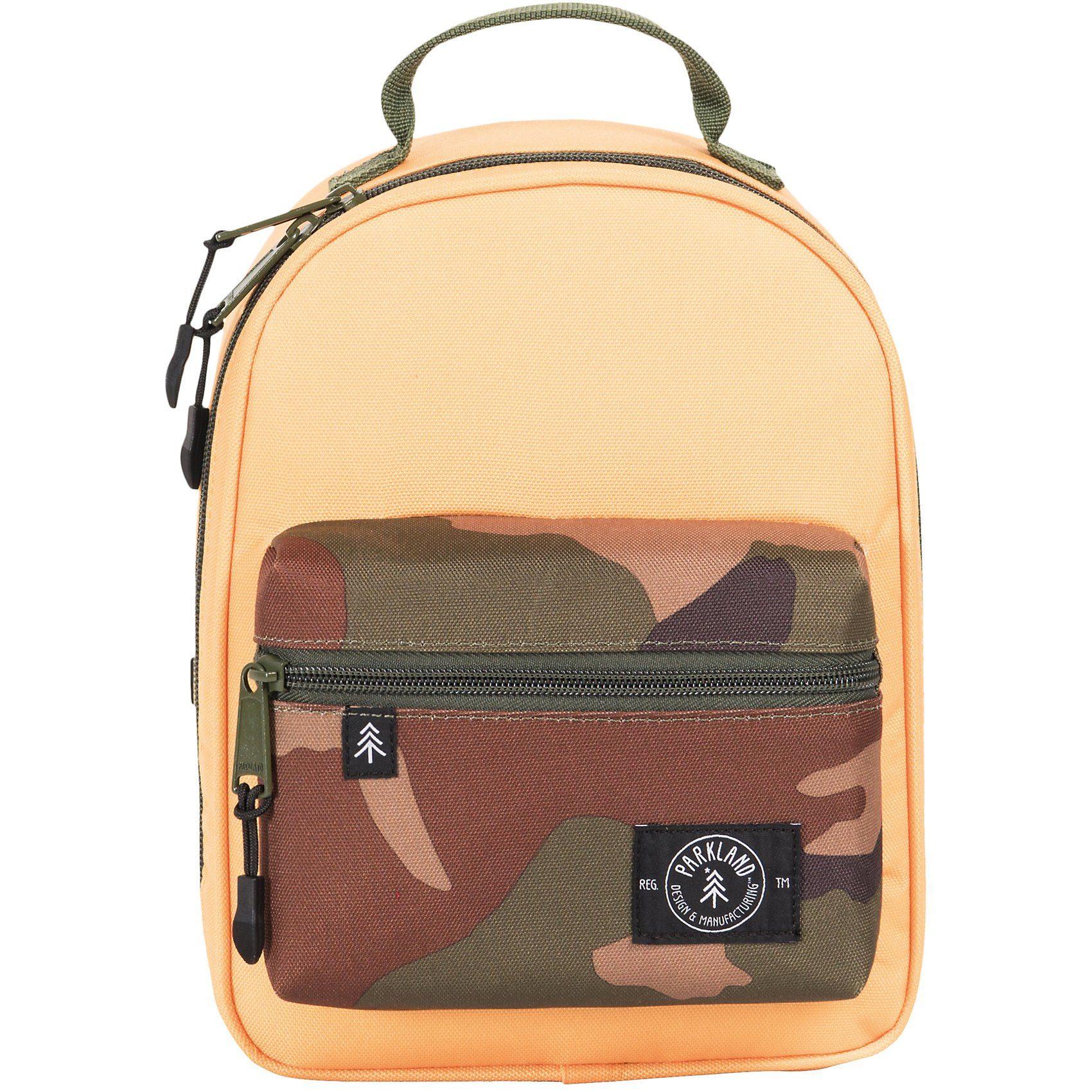 Unisex PARKLAND Kühltasche Lunch Bag THE RODEO Camo Pop gelb | 00828432199808