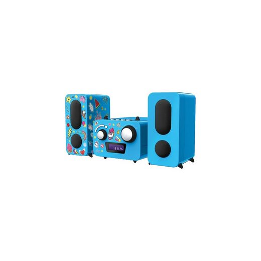 "BigBen Stereo Music Center MCD11""Einhorn"" (blau)"