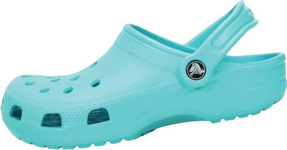 super popular ec0ef 990c2 Crocs Arbeitshalbschuh »Crocs Classic türkis Pool Blue«, Gr. 36 - 45 online  kaufen | OTTO