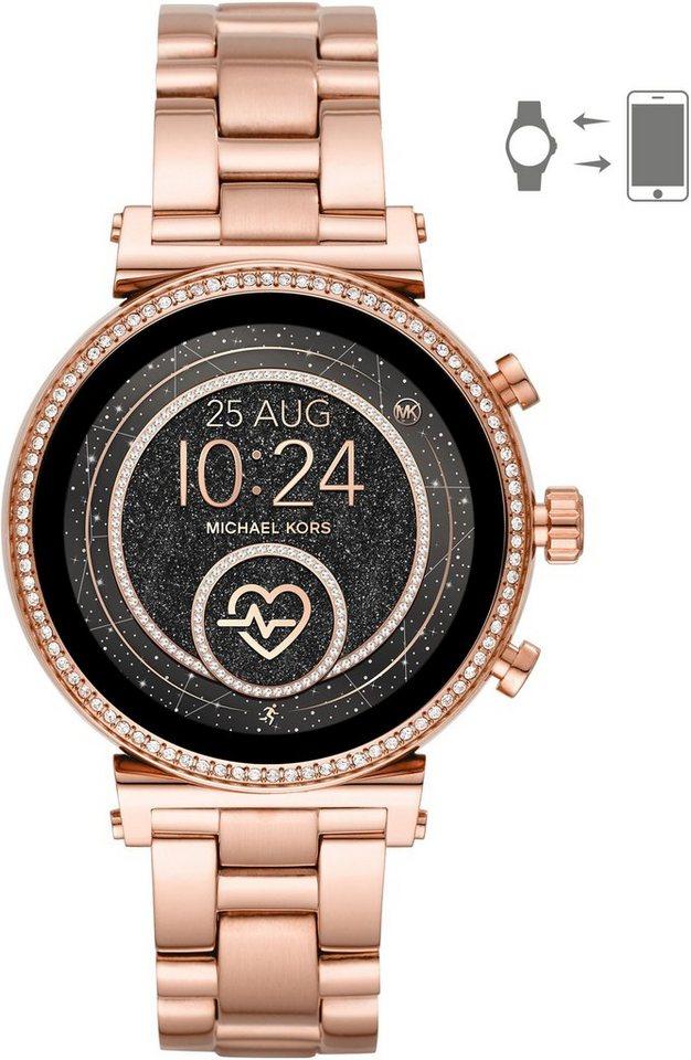 MICHAEL KORS ACCESS SOFIE, MKT5063 Smartwatch (mit individuell einstellbarem Zifferblatt) | Uhren > Smartwatches | Goldfarben | MICHAEL KORS ACCESS