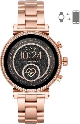 MICHAEL KORS ACCESS SOFIE, MKT5063 Smartwatch (mit individuell einstellbarem Zifferblatt)