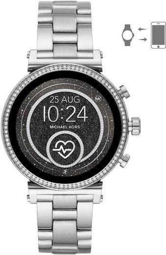 MICHAEL KORS ACCESS SOFIE, MKT5061 Smartwatch (mit individuell einstellbarem Zifferblatt)