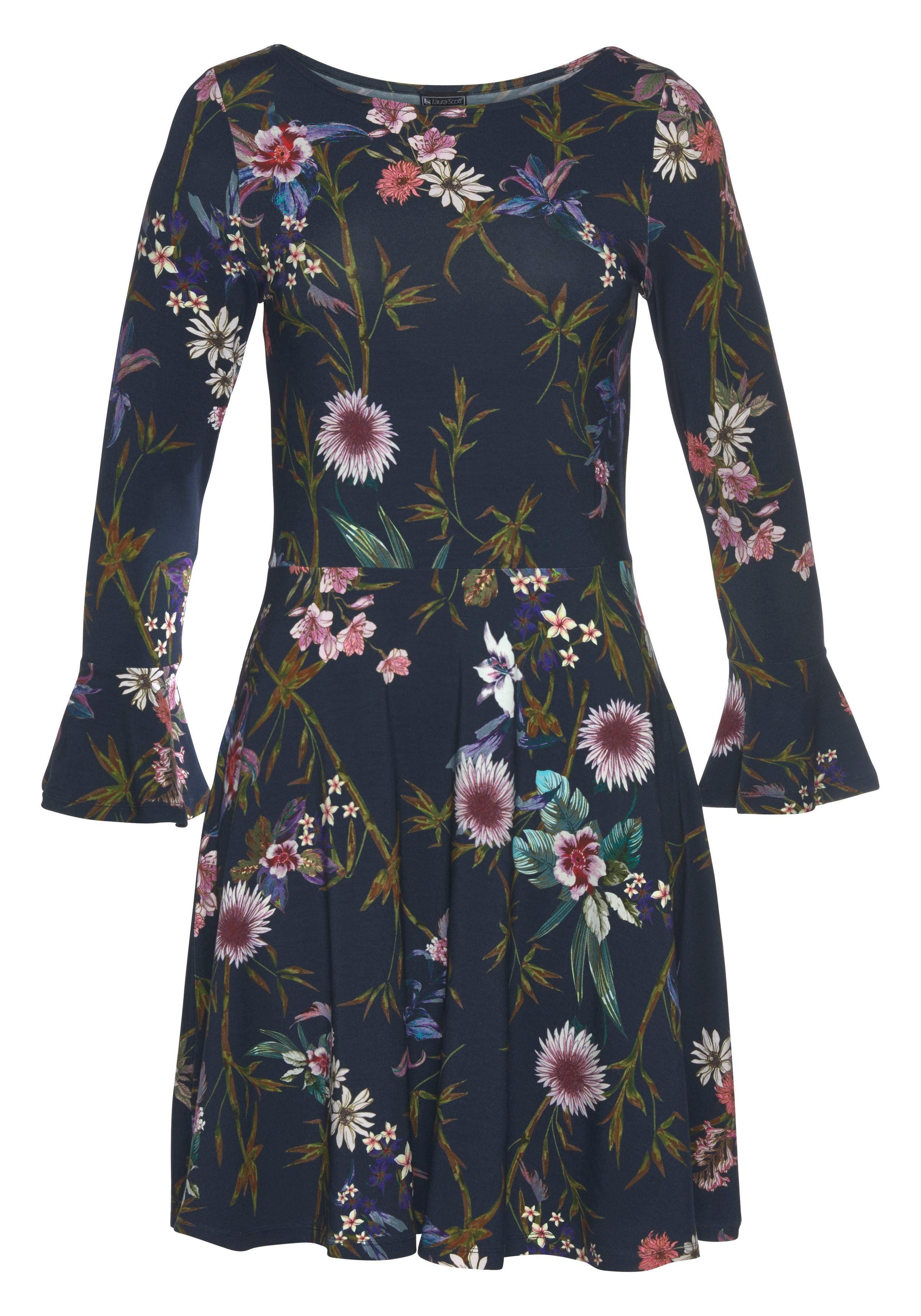 Jerseykleid Kaufen Scott Volantärmel Mit Laura bym76vfIYg