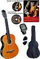 Clifton Konzertgitarre »Clifton Konzertgitarren ¼« 1/4, Komplettset, Bild 1