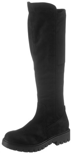TOM TAILOR Stiefel mit cooler Plateausohle