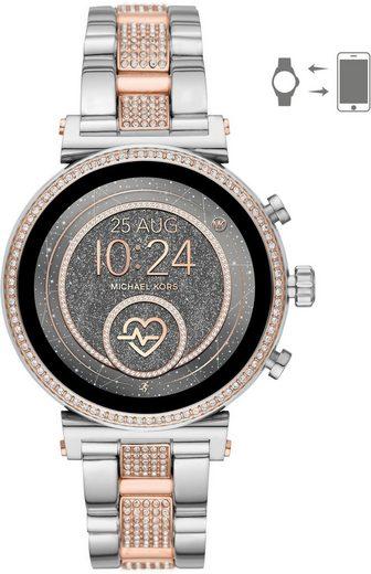 MICHAEL KORS ACCESS SOFIE, MKT5064 Smartwatch (mit individuell einstellbarem Zifferblatt)