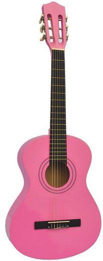Voggenreiter Kindergitarre »Kindergitarre, pink« 1/8