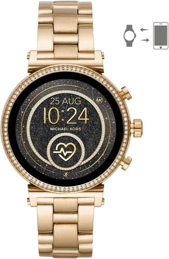 MICHAEL KORS ACCESS SOFIE, MKT5062 Smartwatch (mit individuell einstellbarem Zifferblatt)