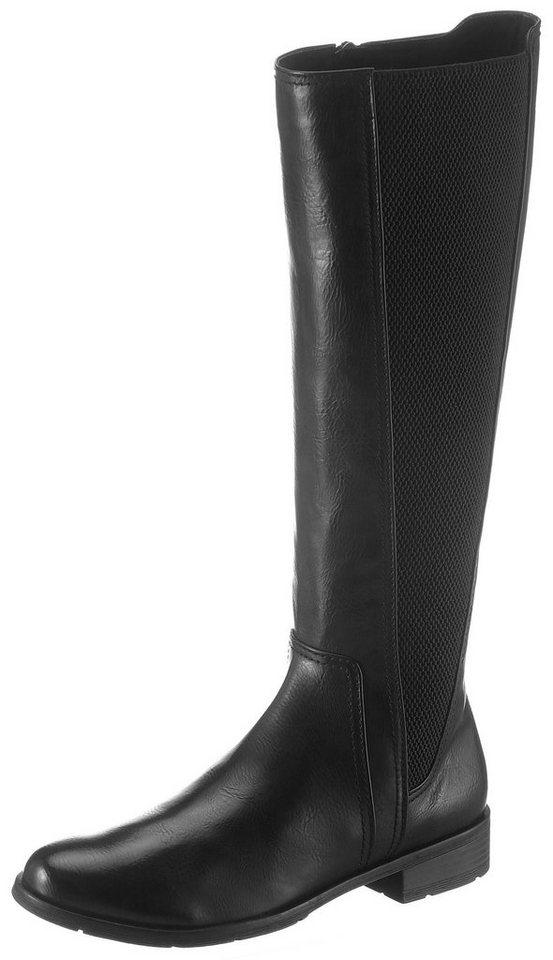wholesale dealer 817b4 cec0c Marco Tozzi Stiefel mit breitem Stretcheinsatz am Schaft online kaufen    OTTO