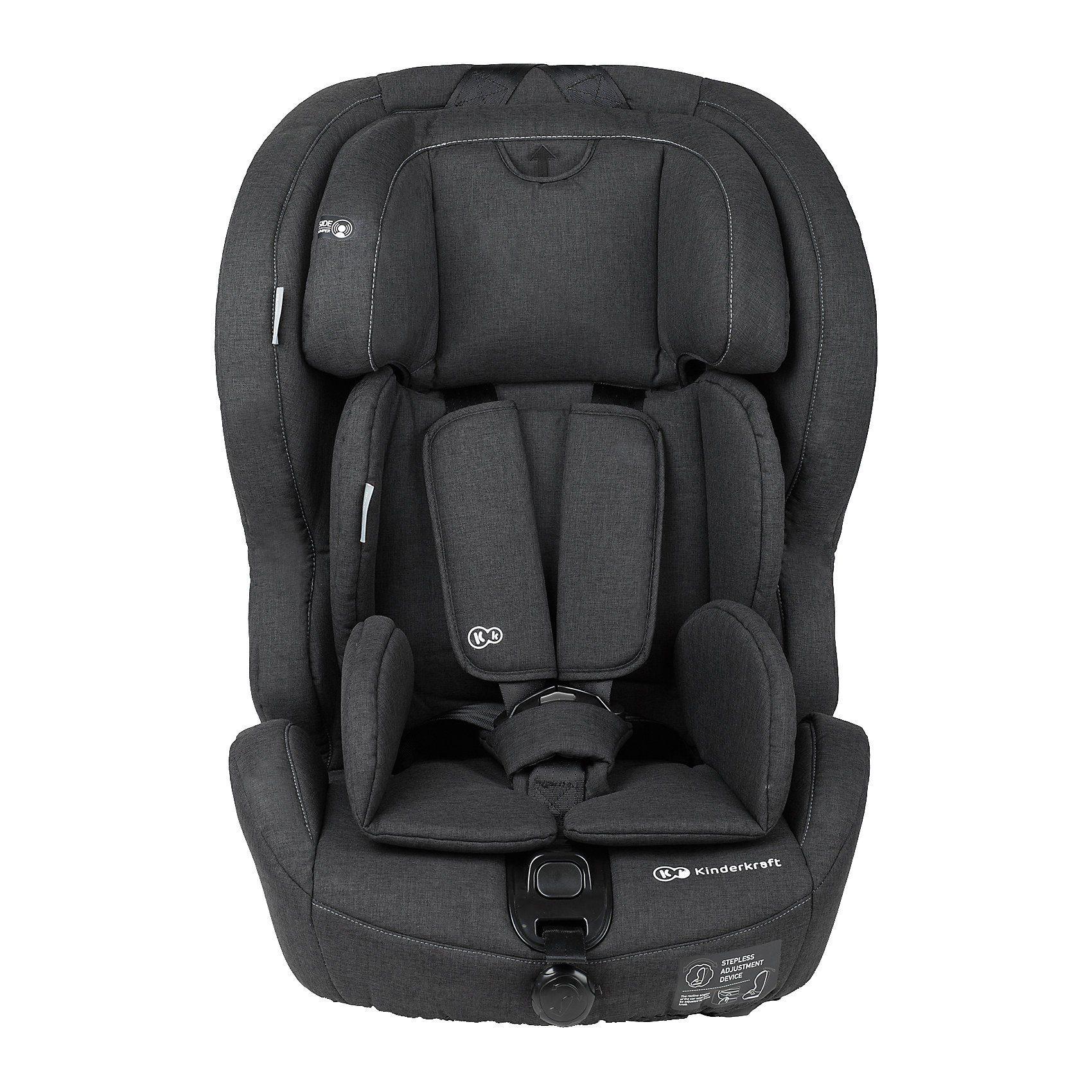 Kinderkraft Kinderautositz Safety-Fix, schwarz