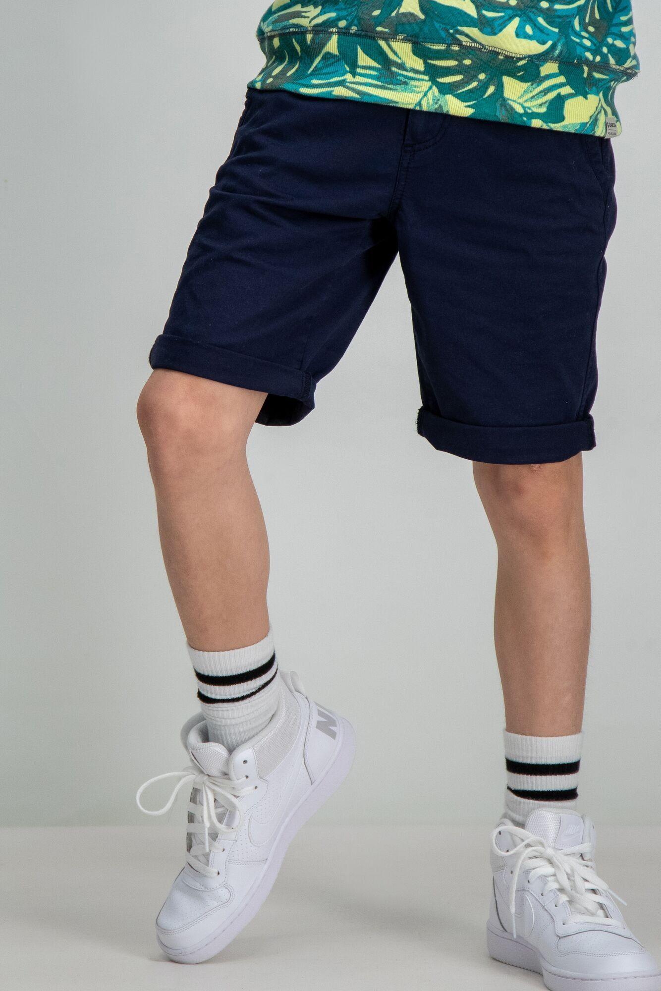 Garcia Shorts mit fluoreszierend Reißverschluss