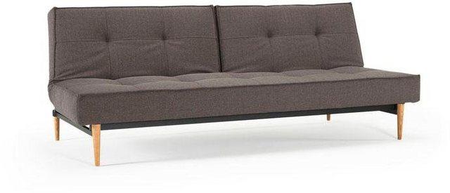Sofas - INNOVATION™ Schlafsofa »Splitback«, mit hellen Styletto Beinen, in skandinavischen Design  - Onlineshop OTTO