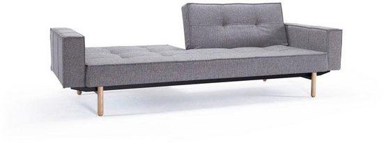 INNOVATION LIVING ™ Sofa »Splitback«, mit Armlehne und Stem Beinen, in skandinavischen Design