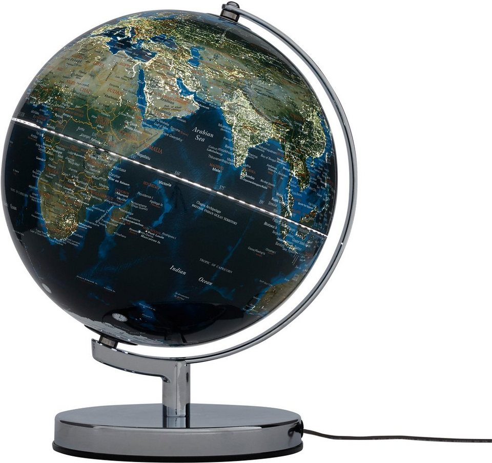 Emform Globus Terra City Led Light Grossstadte Mit