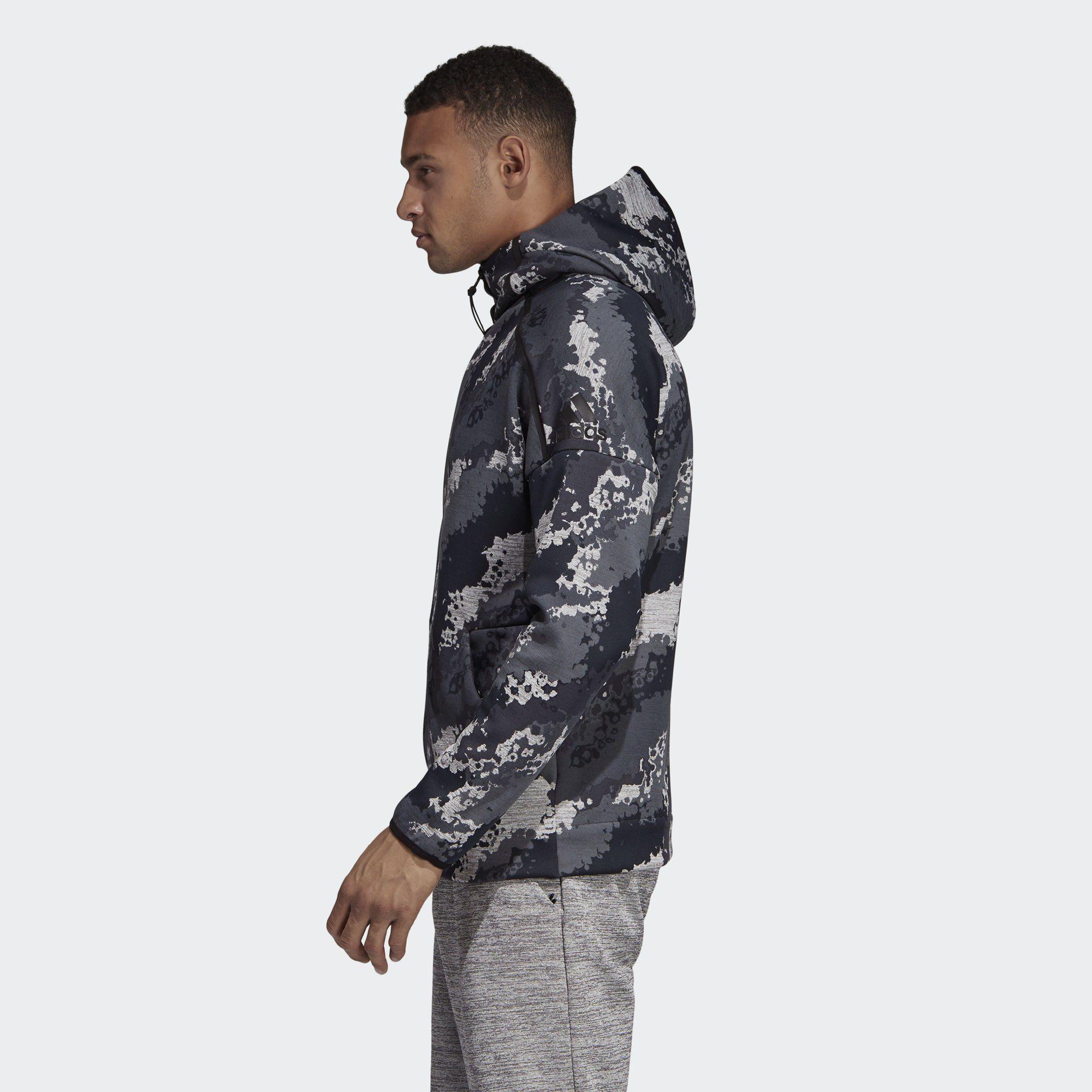 adidas Performance Sweatjacke »adidas Z.N.E. Allover Print Fast Release Hoodie« ZNE online kaufen   OTTO