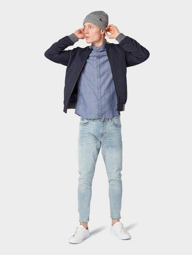 Kurzarmhemd Denim Tailor »gestreiftes Tom Kurzarmhemd« EqRO8wxv
